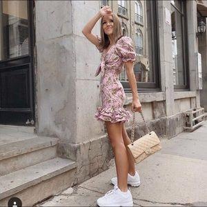 Verge Girl Pink Summer Ruffle Mini